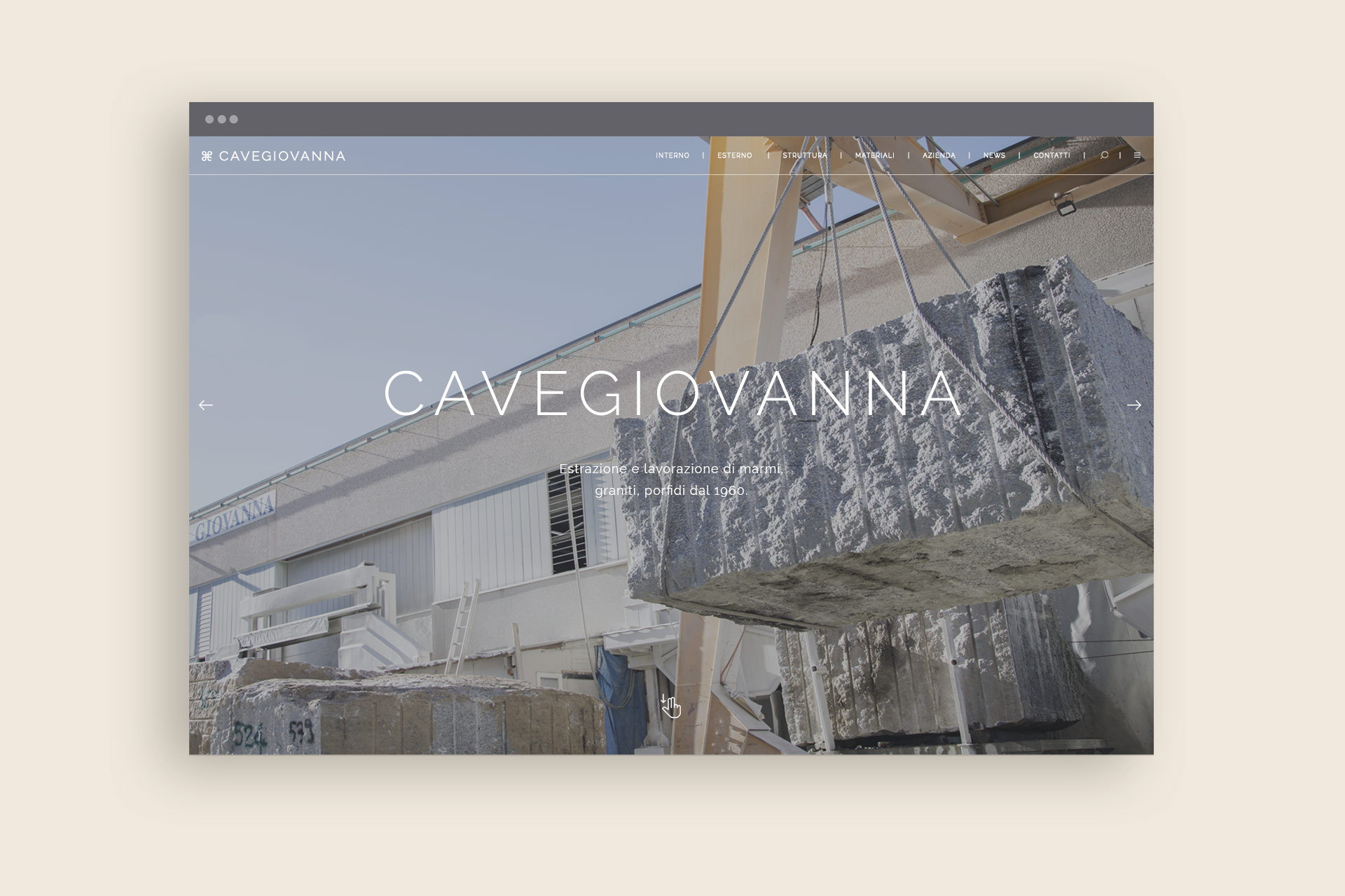 Cave Giovanna website
